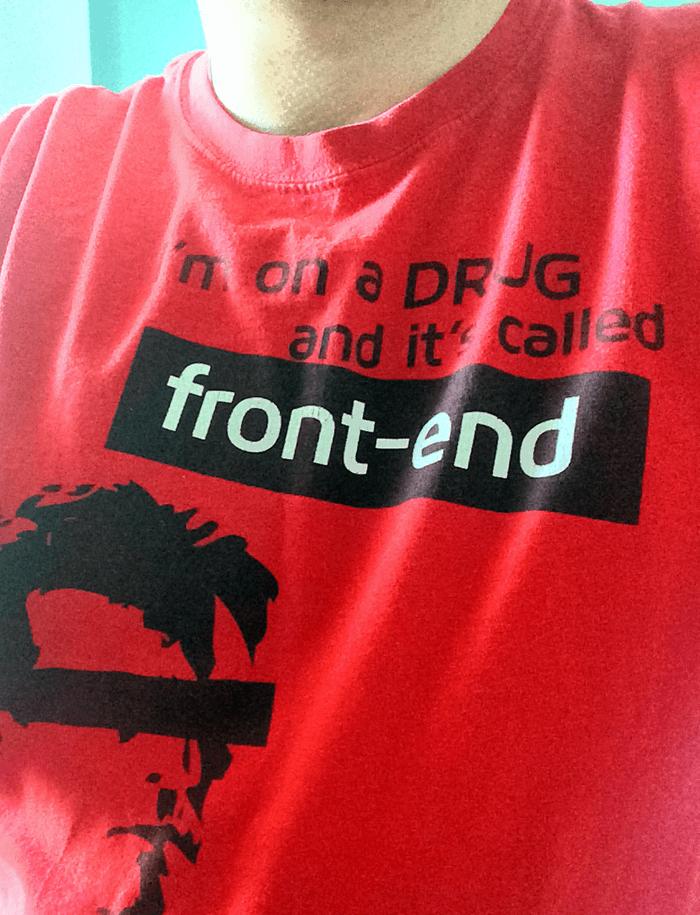 Koszulka z konferencji Front Row